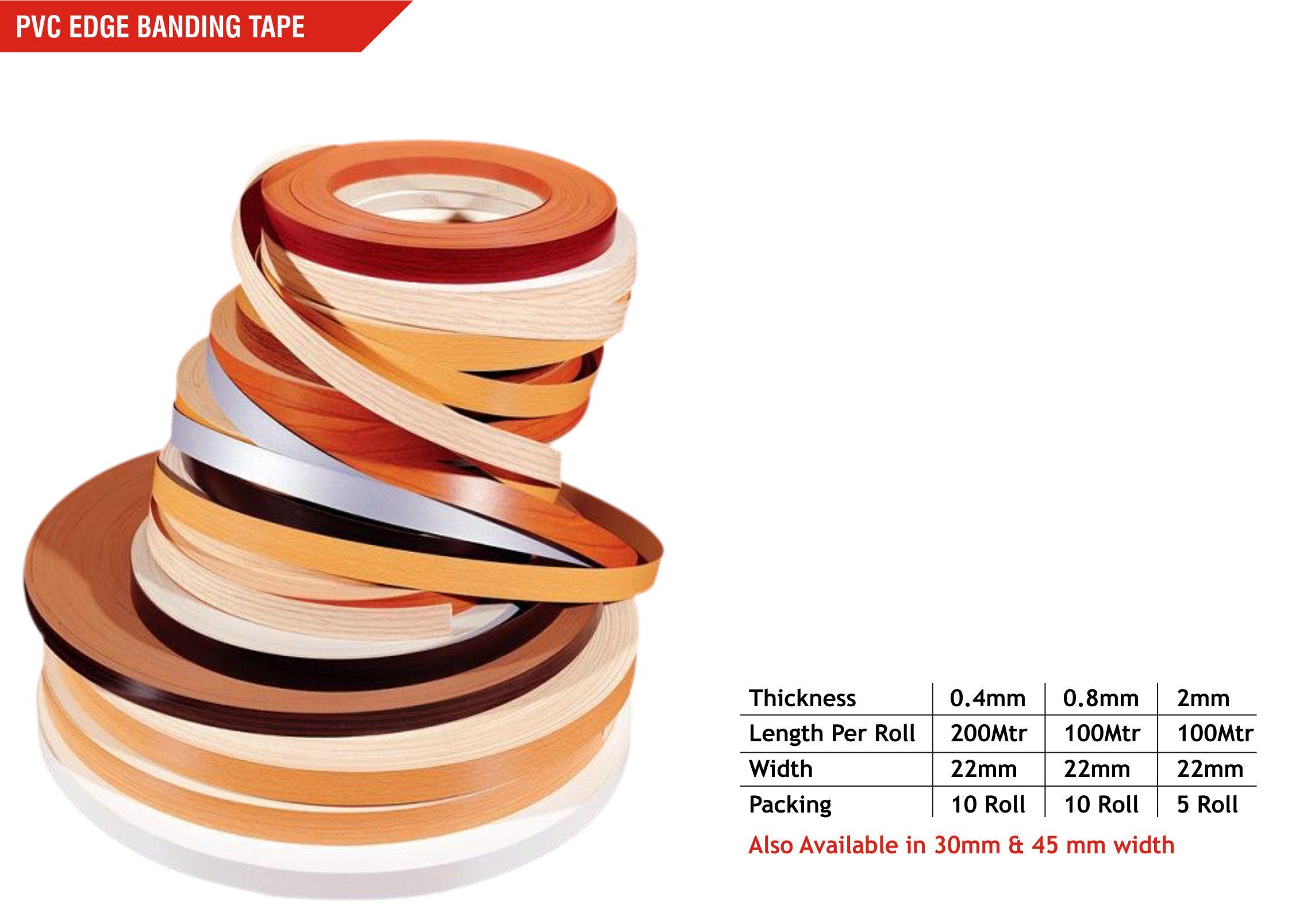 Edge Banding Tape Manufacturer Delhi | GVI Hardware